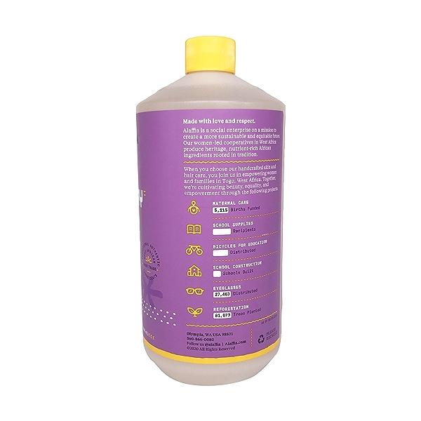 Lavender Shea Bubble Bath, 32 fl oz 3