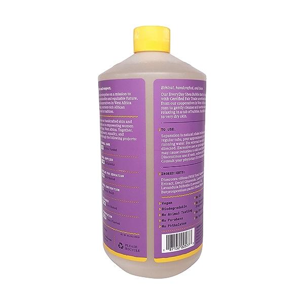 Lavender Shea Bubble Bath, 32 fl oz 2