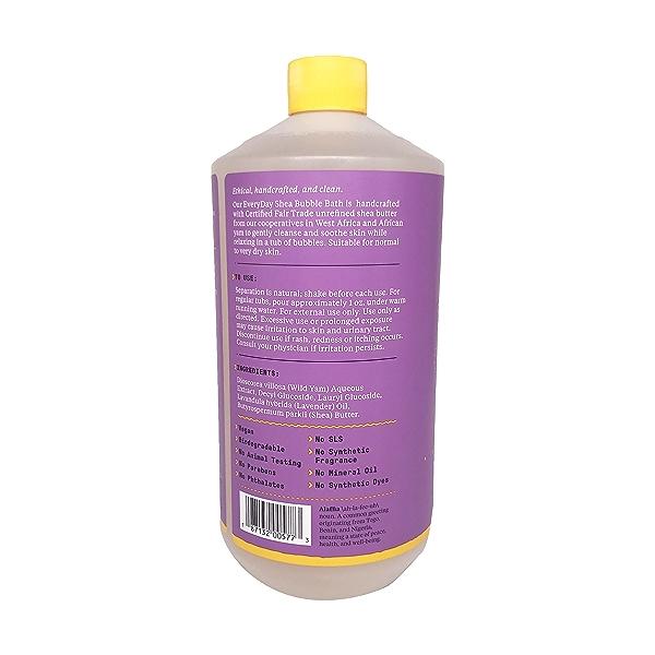 Lavender Shea Bubble Bath, 32 fl oz 4
