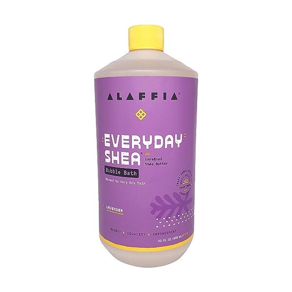 Lavender Shea Bubble Bath, 32 fl oz 1