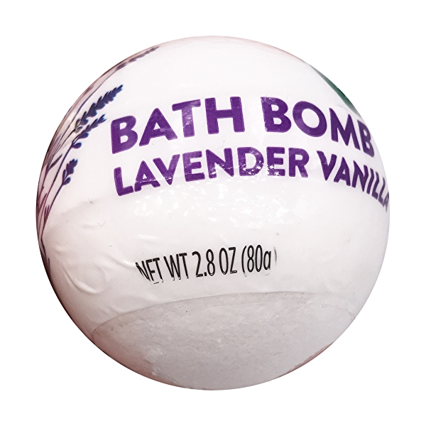 Lavender Vanilla Bath Bomb, 2.8 oz 4
