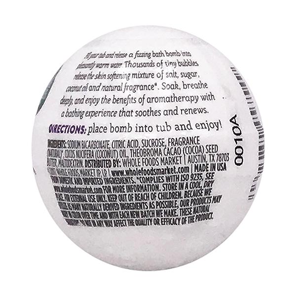 Lavender Vanilla Bath Bomb, 2.8 oz 2