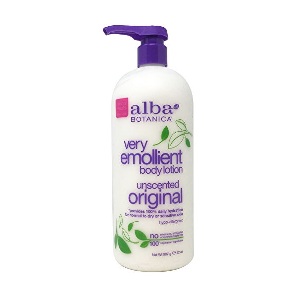 Very Emollient Unscented Lotion, 32 oz 1