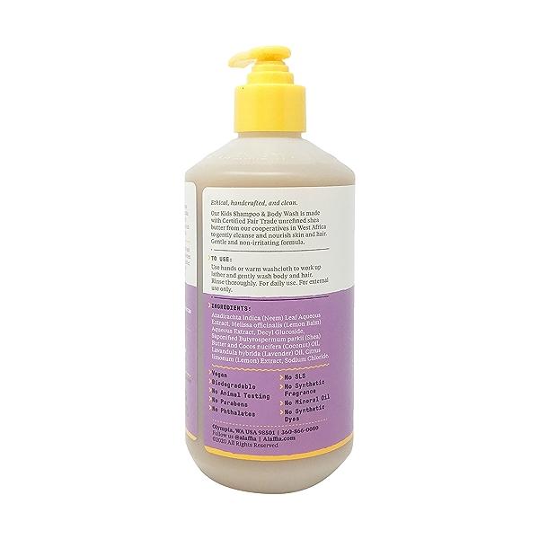 Lemon Lavender Shampoo & Body Wash, 16 fl oz 3