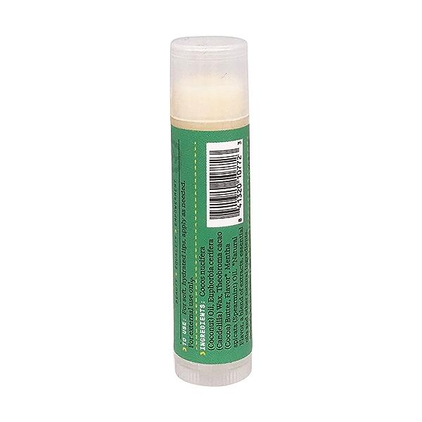 Coconut Mint Lip Balm, 1 stick 2