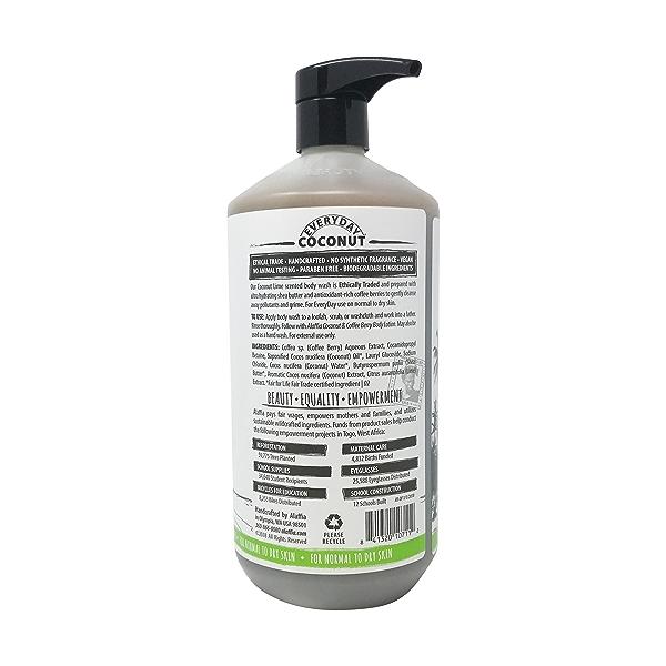 Coconut Body Wash Coconut Lime, 32 fl oz 2
