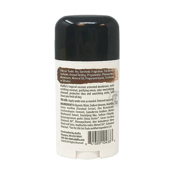 Coconut Reishi Deodorant, 2.65 oz 2