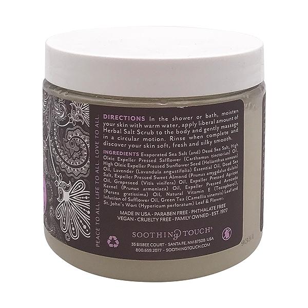 Lavender Salt Scrub, 20 oz 2