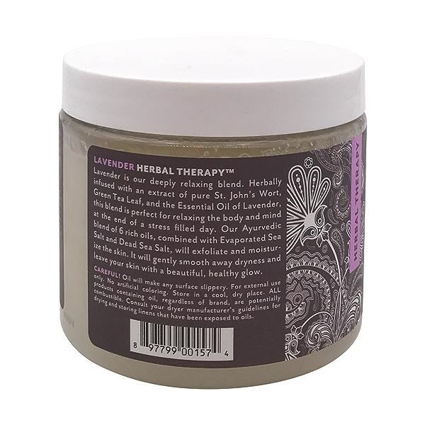 Lavender Salt Scrub, 20 oz 3