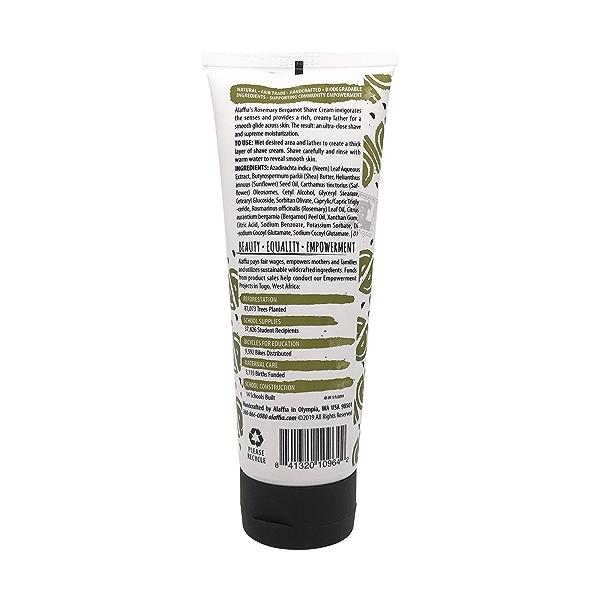 Rosemary Bergamot Shave Cream, 8 fl oz 2