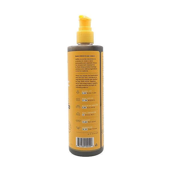 Authentic African Black Soap Clarifying Charcoal Honey, 12 fl oz 2