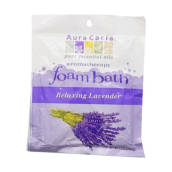Lavender Foaming Bath, 2.5 oz 1