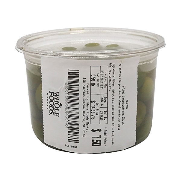 Pitted Castelvetrano Olives 3