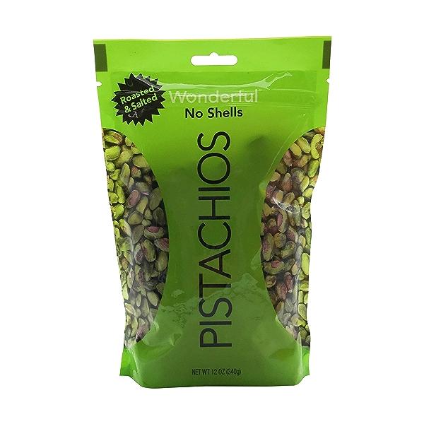 Roasted Shelled Pistachios, 12 oz 1