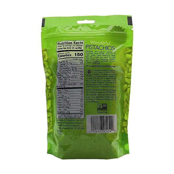 Roasted Shelled Pistachios, 12 oz 2