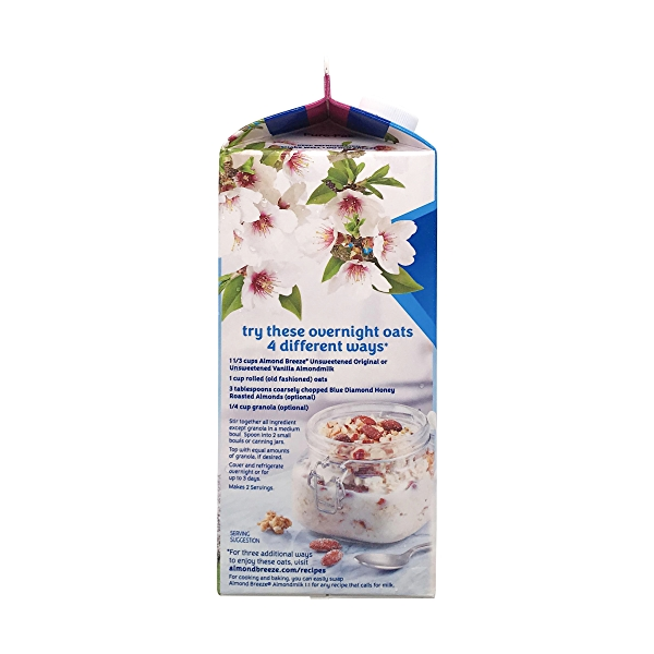 Almond Breeze Unsweetened Vanilla Almondmilk 4
