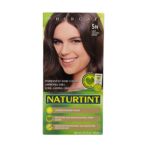 Natural Chestnut 4n Permanent Hair Color, 5.6 fl oz 1