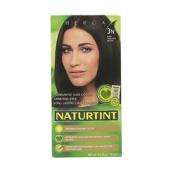 Ebony Black 1n Permanent Hair Color, 5.6 fl oz 1