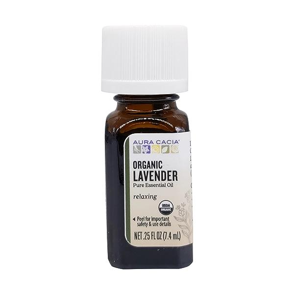 Organic Lavender Essential Oil, 0.25 fl oz 1