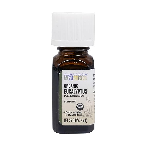 Organic Eucalyptus Essential Oil, 0.25 fl oz 1