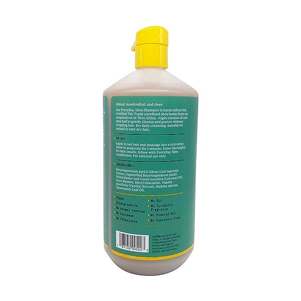 Moisturizing Shampoo Vanilla Mint, 32 fl oz 4