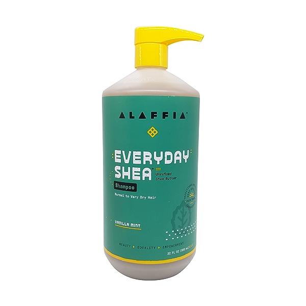 Moisturizing Shampoo Vanilla Mint, 32 fl oz 1