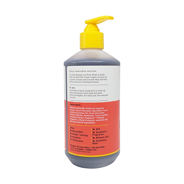 Coconut Strawberry Shampoo Body Wash, 16 fl oz 3