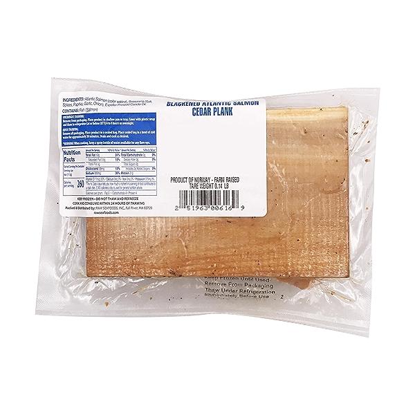 Blackened Atlantic Salmon Cedar Plank 2