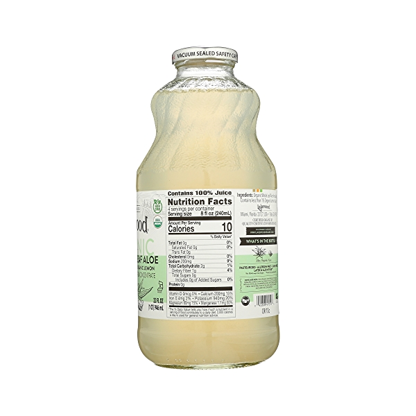 PURE Whole Leaf Aloe Pure Organic, 32 fl oz 4