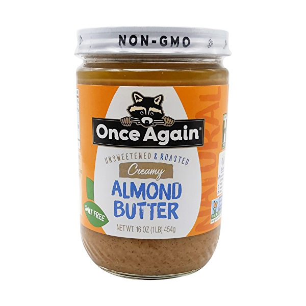 Once Again Creamy Almond Butter 1