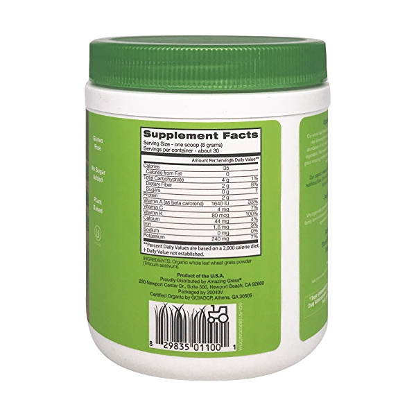 Organic Wheat Grass, 8.5 oz 2