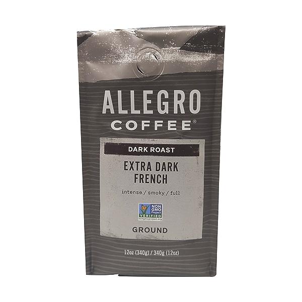 Extra Dark French Ground Coffee, 12 oz 1