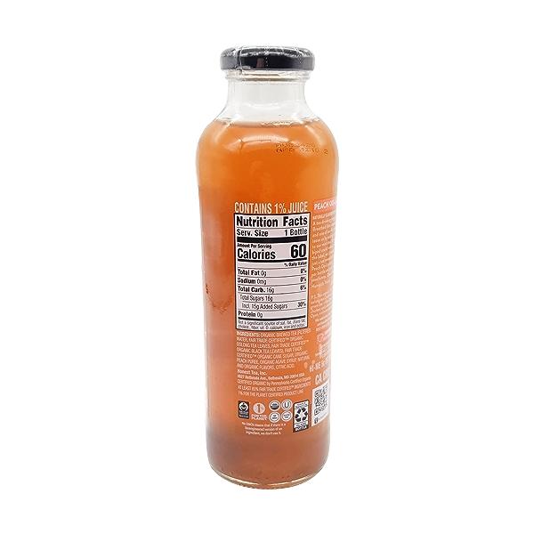 Peach Oo-la-long Tea, 16 fl oz 2