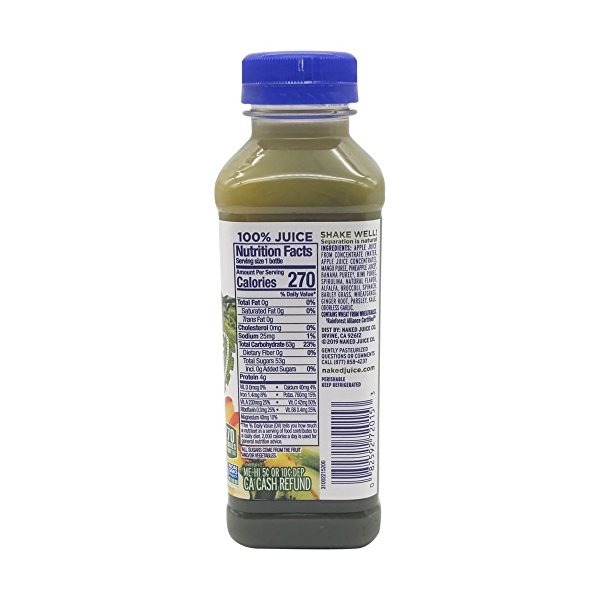 Naked Green Machine Smoothie, 15.2 fl oz 2