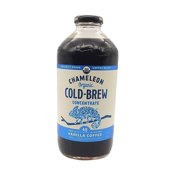 Organic Vanilla Cold Brew Concentrate, 32 fl oz 1
