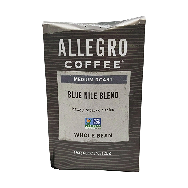 Blue Nile Blend Whole Been Coffee, 12 oz 1