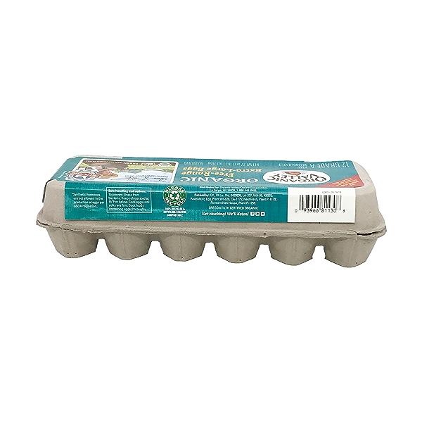 Organic Extra-large Brown Eggs, 27 oz 3