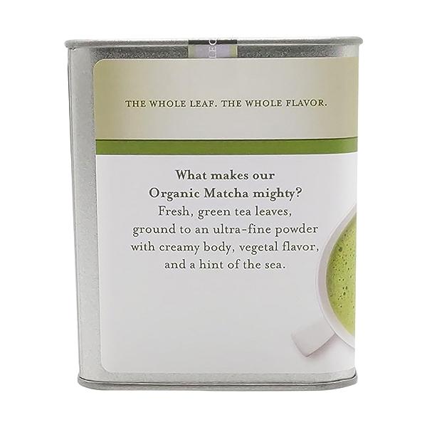 Organic Matcha Green Tea Loose Green Tea, 1.5 oz 4