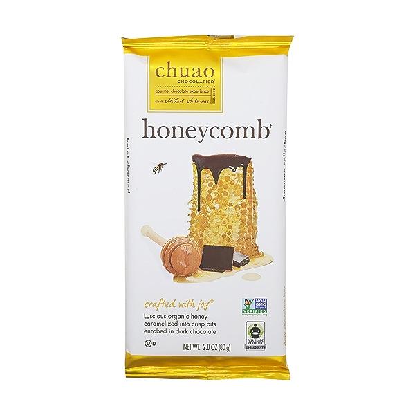 Honeycomb Dark Chocolate Bar, 2.8 oz 1