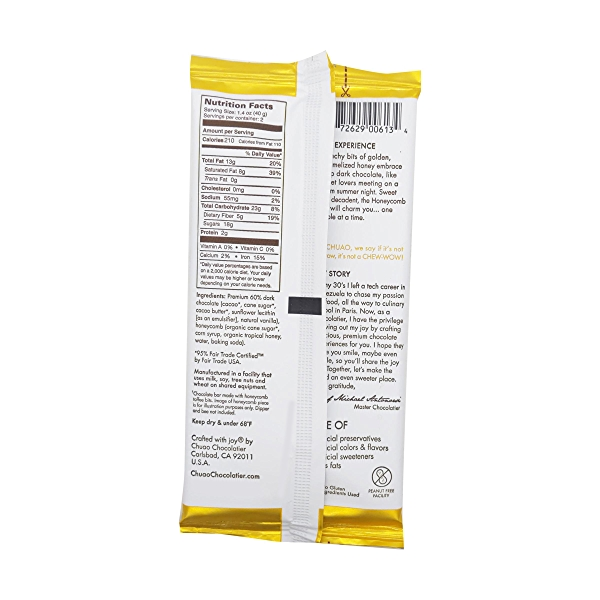 Honeycomb Dark Chocolate Bar, 2.8 oz 2