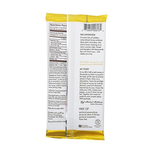 Honeycomb Dark Chocolate Bar, 2.8 oz 3