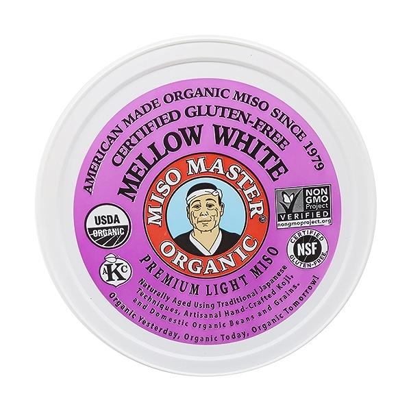 Organic White Mellow Miso, 16 oz 1