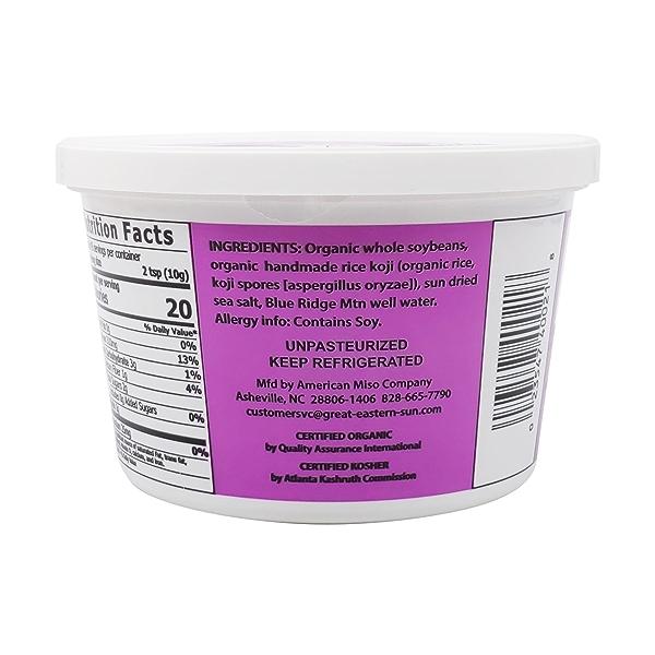 Organic White Mellow Miso, 16 oz 3
