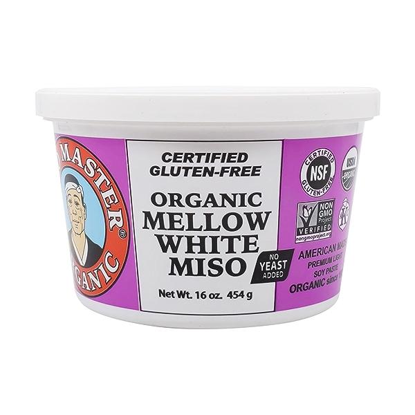 Organic White Mellow Miso, 16 oz 5