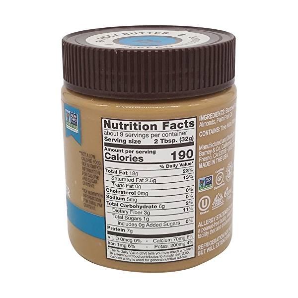 Almond Butter Bare Smooth, 10 oz 2