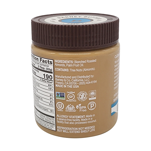 Almond Butter Bare Smooth, 10 oz 3