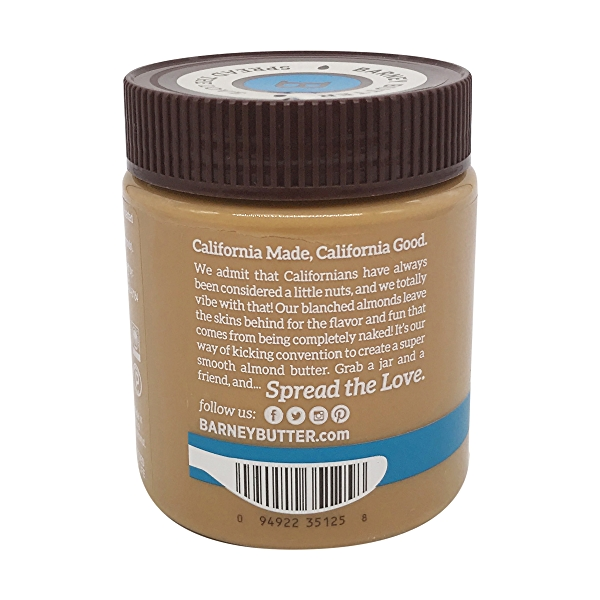 Almond Butter Bare Smooth, 10 oz 4