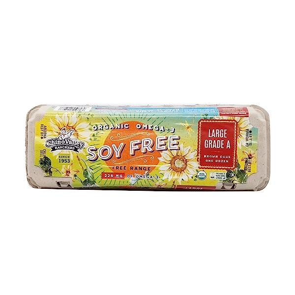 Organic Omega-3 Soy Free Eggs 1