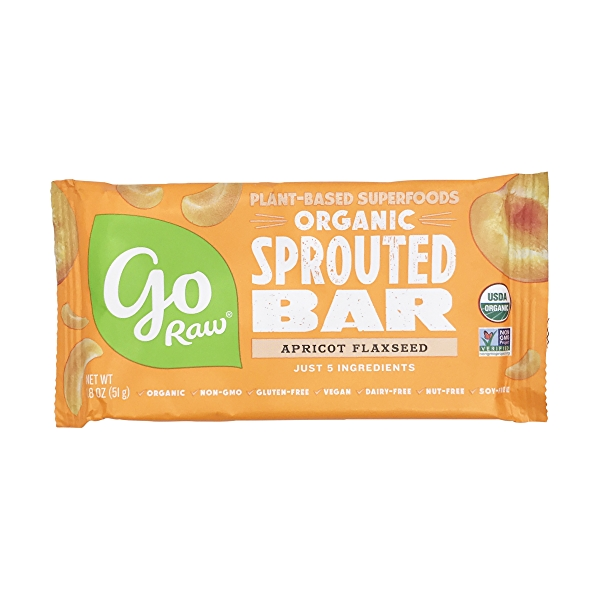 Sprouted Chewy Apricot Bar (Large), 1 each 1