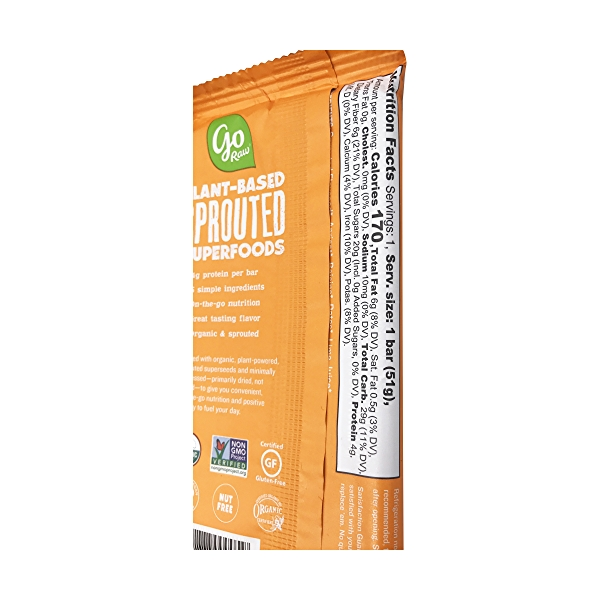 Sprouted Chewy Apricot Bar (Large), 1 each 3